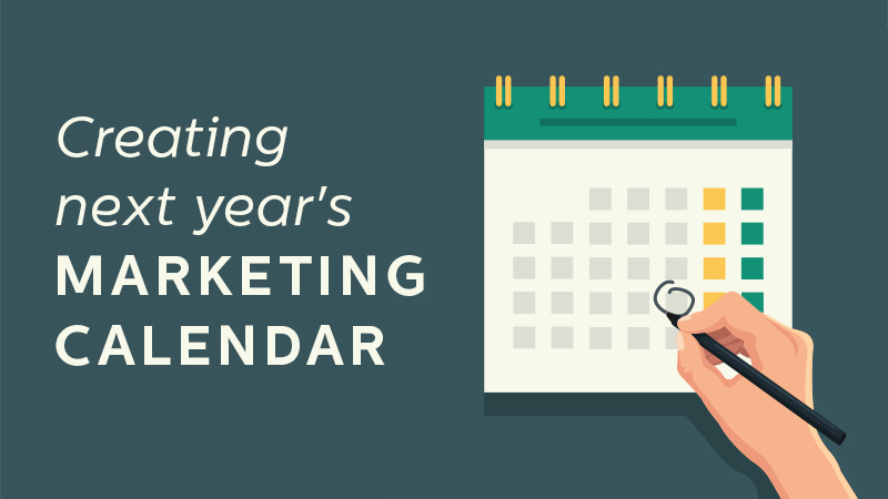 Free 2019 Marketing Calendar Template